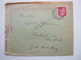 1943 , HAALEM -  Holland Nautic , Briief Mit Censuur - Periode 1891-1948 (Wilhelmina)
