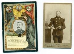 WO1 / WW1 - Doodsprentje Ickx Joseph - Bierbeek / Ougrée - Gesneuvelde /+ Foto - Décès