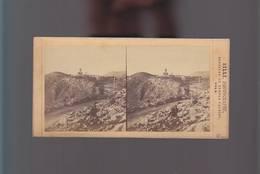 PS- Photo Stéréo / Photographe SILLI (1826/1886) Nice, Derrière Le Temple Vaudois / Turbie - Photos Stéréoscopiques