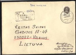 RUSSIA USSR 0319 Cover Postal History LATVIA Kandava Music Art - 1923-1991 URSS