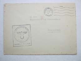 1941 , DEN HAAG , Rüstungsinspektion , Briief Mit Codierung :  BM - Periode 1891-1948 (Wilhelmina)
