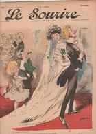 - JOURNAL N°280 -  315mm X 245mm, 4 Mars 1905 , LE SOURIRE - 061 - Journaux - Quotidiens