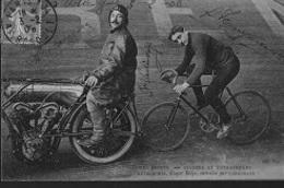 W4I/  1908    HUYBRECHTS EN CARREMANS    DIVERSE HANDTEKENINGEN - Cyclisme