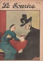 - JOURNAL N°277 -  315mm X 245mm, 11 Février 1905 , LE SOURIRE - 062 - Journaux - Quotidiens
