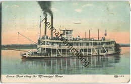 Steam Boat - Mississippi River - Etats-Unis
