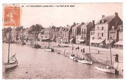 Le Pouliguen (44 - Loire Atlantique)  Le Port Et Le Quai - Le Pouliguen
