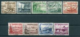 III Reich - Michel 651-659 Gest. - Gebruikt