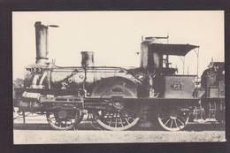 CPA Train Locomotive Gros Plan Non Circulé éditeur HMP N°495 - Trains