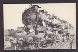 CPA Train Locomotive Gros Plan Non Circulé éditeur HMP N°488 Brive - Trains