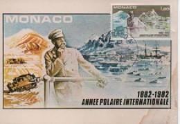 MONACO CARTE MAXIMUM  ANNEE PILAIRE     N° YVERT ET TELLIER     128 ET 11355  1982 - Cartoline Maximum