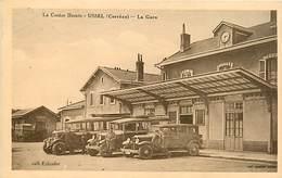 19 USSEL - LA GARE - Ussel