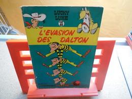 EO Lucky Luke N°15. L'évasion Des Dalton,  René Goscinny Et Morris, Dupuis - 1960..3B0420 - Lucky Luke