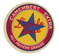 ETIQUETTE De FROMAGE..CAMEMBERT Extra..L'Etoile Bleue - Fromage