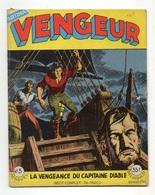 Vengeur N°3 La Vengeance Du Capitaine Diable De 1958 - Arédit & Artima