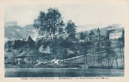 J16-73) ENVIRONS DE CHAMBERY - BARBERAZ (SAVOIE)  LE MONT GRANIER  (ALT. 1938 M.)  - (2 SANS) - Other Municipalities