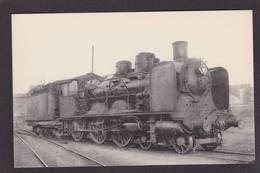 CPA Train Locomotive Gros Plan Non Circulé éditeur HMP N°111 - Trains