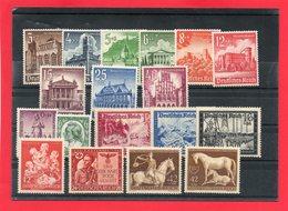 Fin De Carnet A Choix 18 Valeurs REICH ** - Collections (without Album)