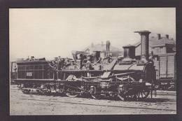 CPA Train Locomotive Gros Plan Non Circulé éditeur HMP N°144 - Trains