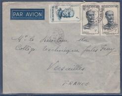 = Enveloppe Madagascar De Diego-Suarez ..2.52 à Versailles N°309 Général Galliéni Et 314 Général Duchesne - Lettres & Documents