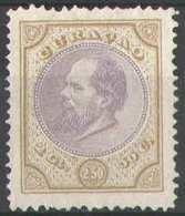 Curacao NVPH Nr 12 Ongebruikt/MH Koning Willem III 1879 - Curacao, Netherlands Antilles, Aruba