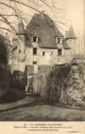 BEAULIEU ANCIEN CHATEAU DES COMTES DE LYON - Frankreich