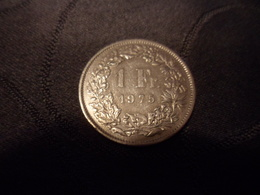 1 Fr. Suisse  1975 - Suisse