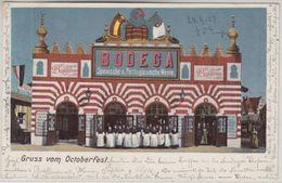 Bayern - München Oktoberfest Bodega Span. & Port. Weine Farb. AK 24. Sep 1902 - Non Classificati