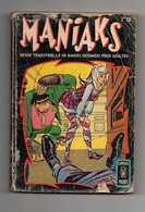 Petit FormatManiaks N°3 La Malédiction Du Clan Avarice - L'affaire Vrain-Lucas - La Classe 1998 De 1970 - Arédit & Artima