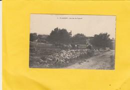 CPA 84  FLASSAN  ARRIVEE DE CANAUD BELLE SCENE DE LABOUR - France