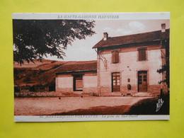 Montesquieu-Volvestre ,gare Sud-ouest ,état - France