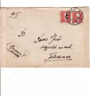 Czechoslovakia 1934, Cover Košice - Feledince /teraz Jesenské/ - Czechoslovakia