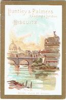 Chromo HUNTLEY & PALMERS - ROME, Ponte St. ANGELO - Snoepgoed & Koekjes