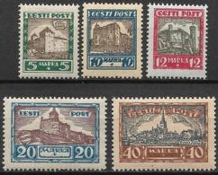 Estland - Estonia 1927, Complete Set MNH - Estland