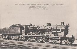 AK Les Locomotives Francaises Nord Type Ten Wheel Locomotive Machine No 3999 3888 3998 ? Chemin De Fer Train - Eisenbahnen