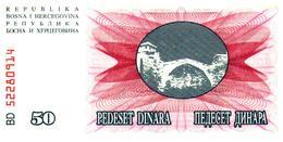 Billet > Bosnie-Herzegovine > 50 Dinara - Bosnië En Herzegovina