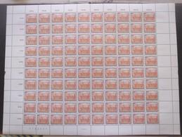 AUTRICHE N°1744 En Feuille De 100 Neuf ** Cote 180€ - 1981-90 Nuevos & Fijasellos