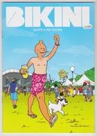 Revue Bikini - Couverture Parodie TINTIN Tintinophilie - été 2016 -RENNES Fete Concert Bretagne -breizh - Andere Stripverhalen
