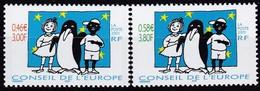 Frankreich, 2001,  13/14, MNH **,  CONSEIL DE L'EUROPE, Tomi Ungerer. - Neufs