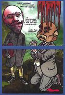 CPM Puzzle De 2 Cartes Tirage Limité 30 Ex Numérotés événements Viticoles 1907 Clemenceau Narbonne Sarraut - Satiriques