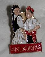 PIN ANDORRA - Villes