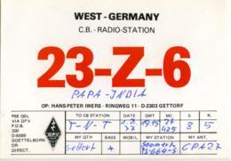 QSL RADIO GETTORF  RINGWEG 11  23-Z-6  1977 - Radio Amatoriale