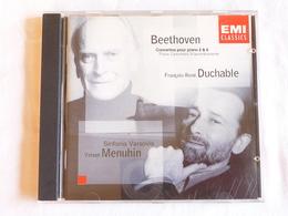 BEETHOVEN, Concertos Pour Piano N° 2 & 6, François-René Duchable, Yehudi Menuhin - Classique