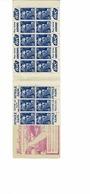 CARNET DE TIMBRES N°886, S4, LOTERIE NATIONALE, MARIANNE DE GANDON BLEU FONCE / POINTE BIC / PETROLE HAHN - Booklets