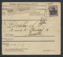 Bewijs Van Afgifte Pakje Beauraing 15.9.18 - Army: German