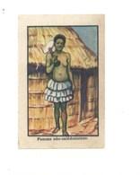 Chromo OCEANIE Néo-Calédonienne  Femme Chocolat Annecy RR 1936 TB/Bien Colonies Françaises 2 Scans (Vente Privée) - Chocolat