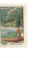 Chromo OCEANIE TAHITI Pêcheur De Nacre Chocolat Annecy RR 1936 TB/Bien Colonies Françaises 2 Scans (Vente Privée) - Chocolat