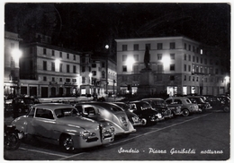 SONDRIO - PIAZZA GARIBALDI - NOTTURNO - 1956 - ALFA ROMEO - AUTOMOBILI - CARS - Sondrio