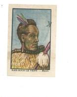 Chromo OCEANIE Îles Sous-le-Vent MAORI Chocolat Annecy RR 1936 TB/Bien Colonies Françaises 2 Scans (Vente Privée) - Chocolat