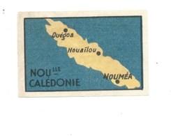 Oceanie Nouvelle Caledonie Nouméa Carte Chocolat Annecy RR 1936 TB/Bien Colonies Françaises 2 Scans - Chocolat