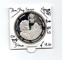 CONGO DEMOCRATISCHE REP. 5 FRANCS 2000 CN PROOF PRINCESS DIANA 1961/1997 - Congo (République Démocratique 1998)